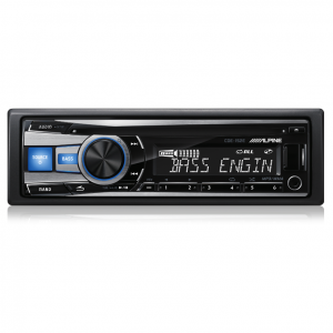 Alpine CDE-152E CD Receiver with USB/iPod/iPhone/App Controller