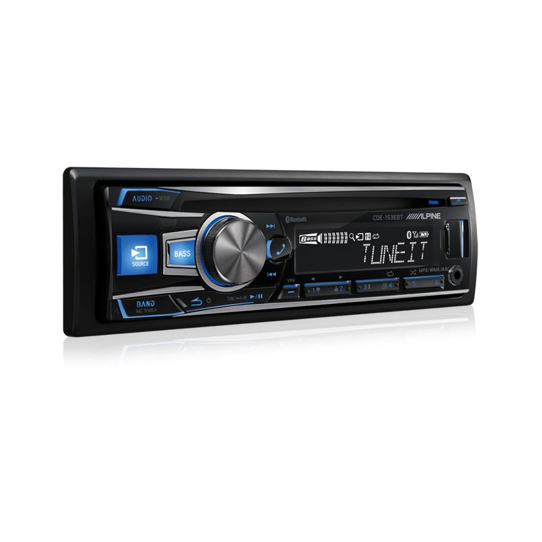 Alpine CDE-153EBT CD Receiver With Advanced Bluetooth