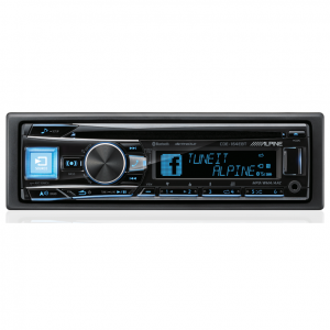 Alpine CDE-164EBT CD Receiver with Bluetooth/USB/iPod and iPhone/PANDORA