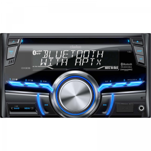 Clarion CX305AU 2-DIN Bluetooth/CD/USB/MP3/WMA Receiver