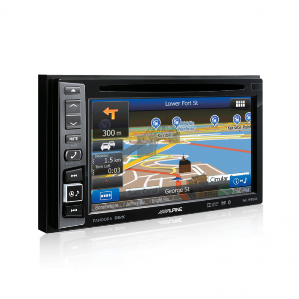 "Alpine INE-W960A 6.1"" DVD/USB/MP3/WMA/AAC/DIVX/Bluetooth/Navi Station"