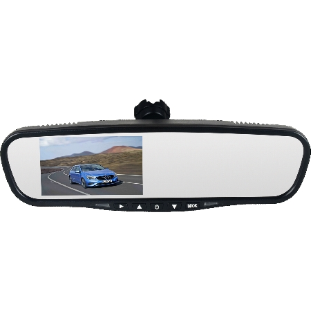 Mongoose LCD43P Replacement Rear View Mirror Monitor