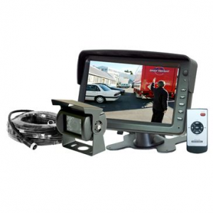 Mongoose MCM721 Complete Reverse Camera & 7″ Monitor Kit