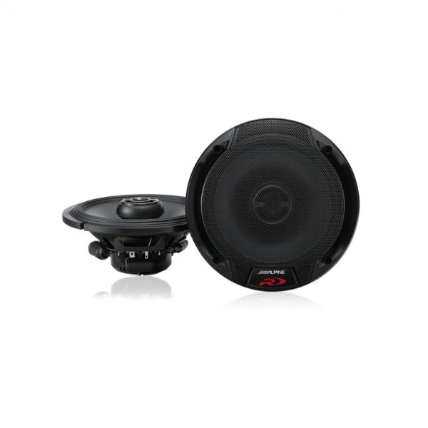 "Alpine SPR-60 Type-R 6-1/2"" Coaxial 2-Way Speakers"