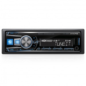 Alpine UTE-62EBT Digital Media Receiver with Bluetooth/USB and iPod/iPhone/App Controller