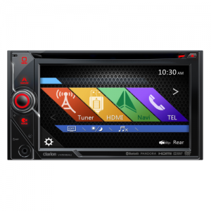 "Clarion VX506AU 2-DIN DVD Multimedia Station with Bluetooth and 6"" Touch Panel Control"