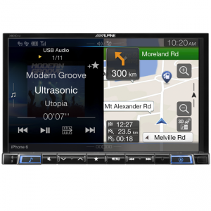 "Alpine X801D-U 8"" DAB+/RDS/HDMI/FLAC/MP3/WMA/AAC/USB/Bluetooth/Advanced Primo 3.0 Navigation"