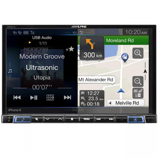 "Alpine X801D-U 8"" DAB+/RDS/HDMI/FLAC/MP3/WMA/AAC/USB/Bluetooth/Advanced Primo 3.0 Navigation"