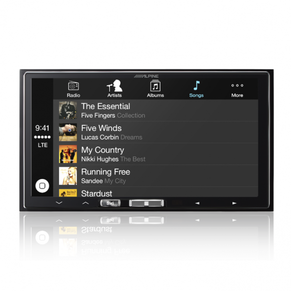 "Alpine iLX-007E 7"" Receiver with Apple CarPlay"