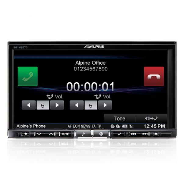 """Alpine INE-W987D 7"""" DAB+/DVD/USB/HDMI/Bluetooth Advanced Navi Station"""
