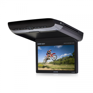 "Alpine PKG-RSE3HDMI 10.1"" Overhead DVD Player with HDMI and USB Video"
