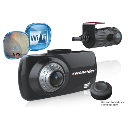 Schneider SDVR-WGD Dual Channel HD Digital Video Recorder
