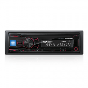 Alpine CDE-150E CD Receiver with USB