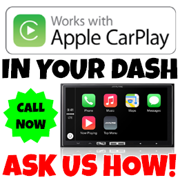 Alpine Apple CarPlay supplied and installed