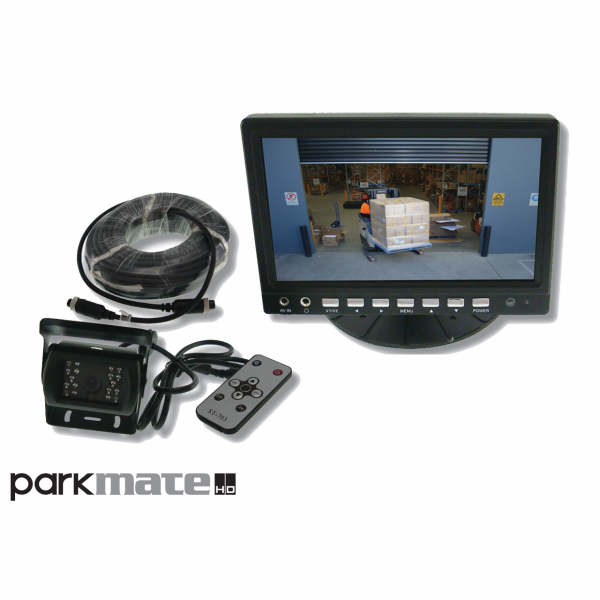 "Parkmate MCPK-70 7"" Monitor & Heavy Duty Reverse Camera Pack"