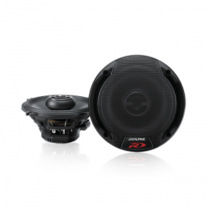 "Alpine SPR-50 Type-R 5-1/4"" Coaxial 2-Way Speakers"