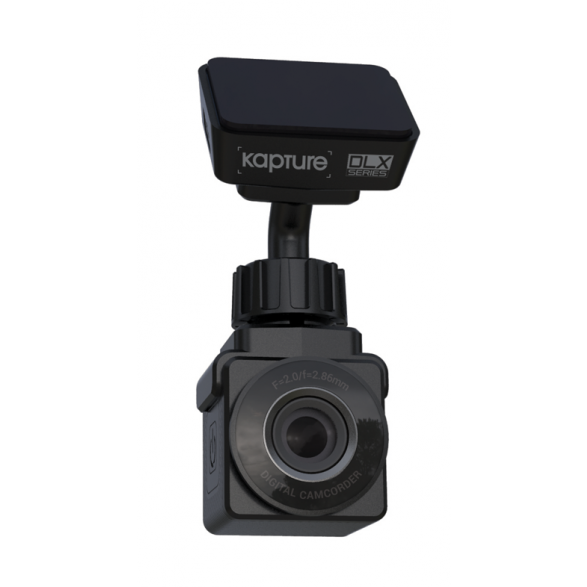 Kapture KPT-910 DLX Series In-CAR Dash Camera with Instant GPS, WiFi and APP Support