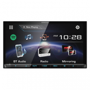 "Kenwood DDX7017BT HDMI Interface, 7"" WVGA Capacitive Touch Screen AV Receiver"