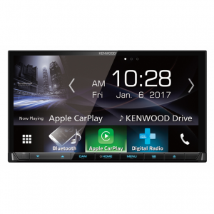 "Kenwood DDX9017DABS Built-in Wi-Fi, 7"" WVGA Capacitive Touch Screen AV Receiver"