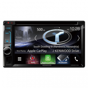 "Kenwood DNX5170SM 6.2"" WVGA Clear-coated Resistive Touch Screen AV Navigation"