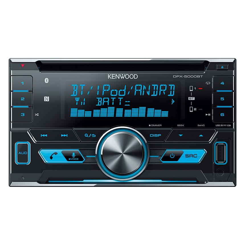 kenwood dpx 5000bt built in bluetooth usb cd receiver monster car audio. Black Bedroom Furniture Sets. Home Design Ideas