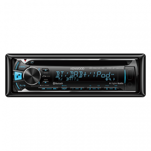 Kenwood KDC-BT39DAB Built-in BT & DAB+. USB / CD Receiver