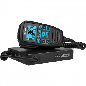 Uniden UH9060 Mini Compact UHF CB Mobile with Remote Speaker with Large LCD with Smart Mic Technology