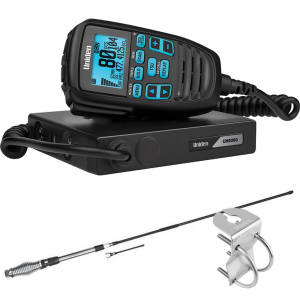 Uniden UH9060 Accessory Pack - Mini Compact UHF CB Mobile with AT880 Antenna & Mount Bracket