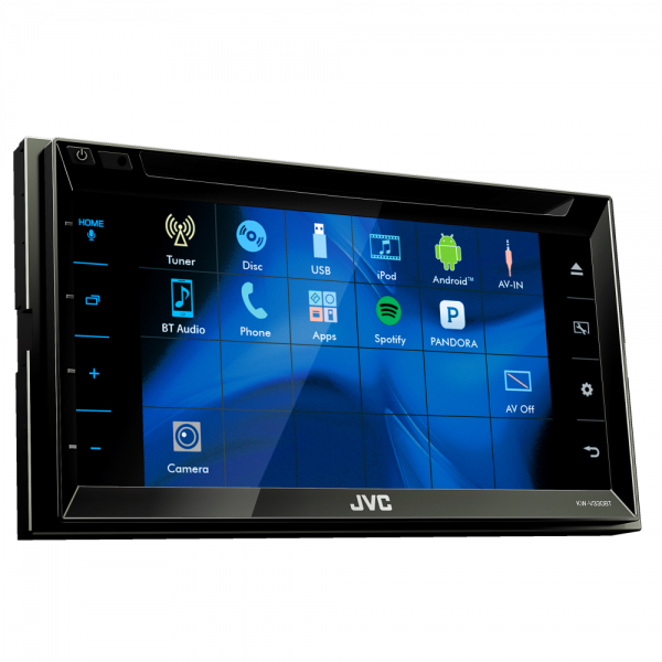"""JVC KW-V330BT DVD/CD/USB Receiver with 6.8-inch Clear Resistive Touch Control Monitor (6.2"""" WVGA) and Built-In Bluetooth(R) Wireless Technology"""