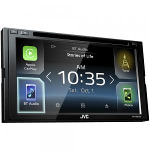 "JVC KW-V930BW DVD/CD/USB Receiver with 6.8"" Clear Resistive Touch Control Monitor, Built-In Wi-Fi and Bluetooth"