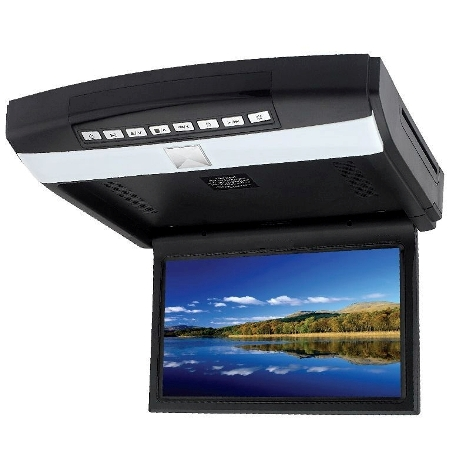 """Mongoose Q355 10.2"""" Roof Mount Drop Down DVD/CD/Games Player"""