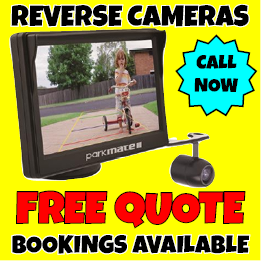 Reverse Cameras supplied and installed